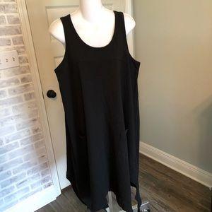 LOGO Cotton Slub Summer Dress